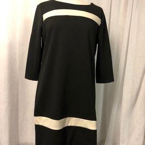 New York & Company Women's Dress Black Stretch